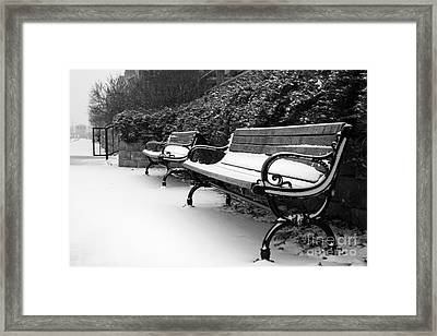 Have A Seat Framed Print by Joel Witmeyer