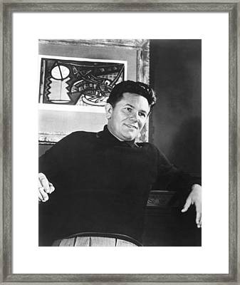 He Ran All The Way, John Garfield, 1951 Framed Print