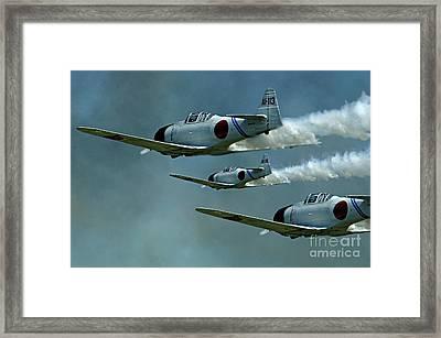 Heading For Pearl Harbor Framed Print by Bob Christopher