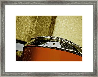Framed Print featuring the photograph Headlamp by Michael Nowotny