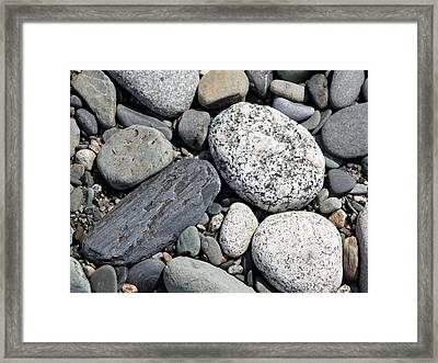 Healing Stones Framed Print by Cathie Douglas