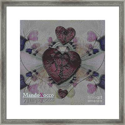 Heart Strikers Framed Print