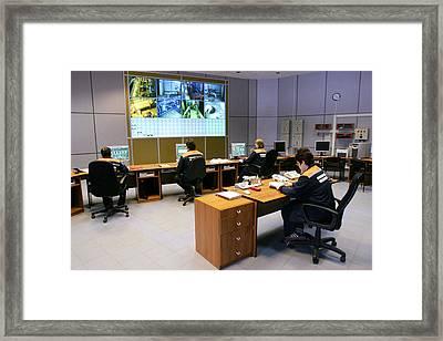 Heat Supply Station Framed Print by Ria Novosti