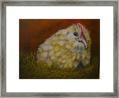 Framed Print featuring the painting Hector by Marlyn Boyd
