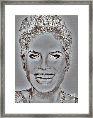 Heidi Klum In 2010 Framed Print by J McCombie