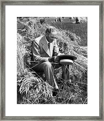 Henry Ford, 1863-1947 Framed Print by Everett