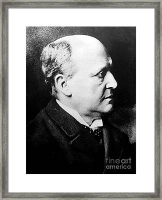 Henry James, American-born British Framed Print by Photo Researchers