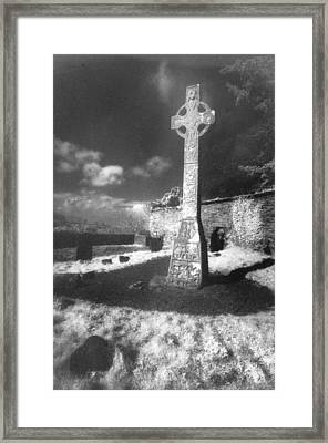 High Cross Framed Print by Simon Marsden
