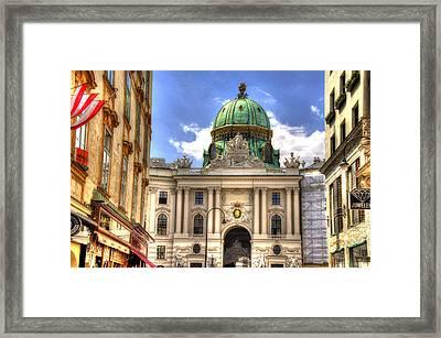 Hofburg Palace - Vienna Framed Print by Jon Berghoff