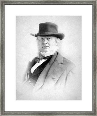 Horace Greeley 1811-1872 Framed Print