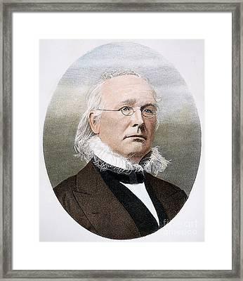 Horace Greeley (1811-1872) Framed Print
