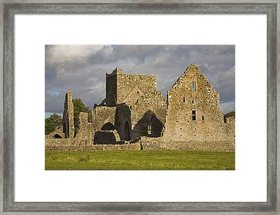 Hore Abbey, Cashel, County Tipperary Framed Print by Richard Cummins