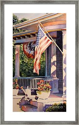 Hot August Night Framed Print by Greg and Linda Halom