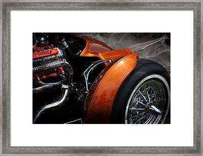 Hot Oldies Framed Print by SM Shahrokni
