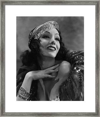 Hot Pepper, Lupe Velez, 1933 Framed Print by Everett