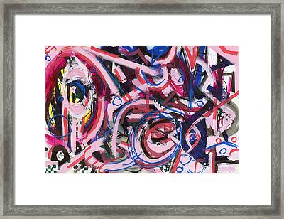 Hot Pink Framed Print by Wes Thomason