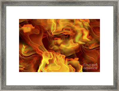 Hot Space Framed Print