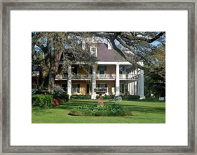Houmas House Framed Print by Helen Haw