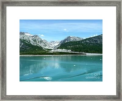 Hubbard Glacier Alaska Framed Print by Sophie Vigneault