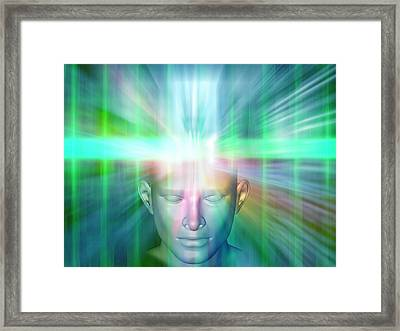 Human Consciousness Framed Print
