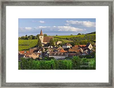 Hunawihr Alsace Framed Print by Brian Jannsen