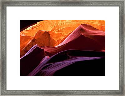 Framed Print featuring the photograph Hyper Slot by Gregory Scott