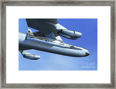 Hyper-x Hypersonic Aircraft Framed Print by Science Source