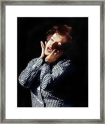 I Could Go On Singing, Judy Garland Framed Print