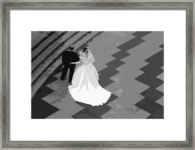 I Do Framed Print by Linda Dunn