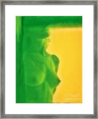 I Dream In Color 3 Framed Print