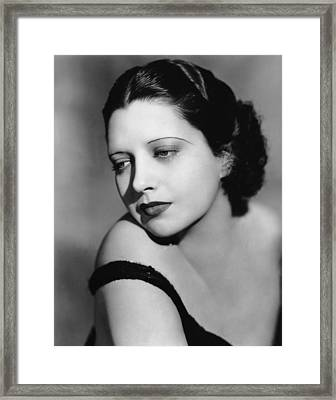 I Found Stella Parish, Kay Francis, 1935 Framed Print by Everett