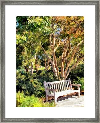 I Waited For You Today Framed Print by Angelina Vick