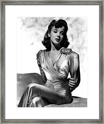 Ida Lupino, Portrait Framed Print by Everett