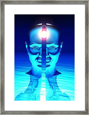 Idea Framed Print by Laguna Design