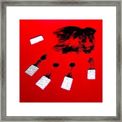 Identity Fraud Framed Print