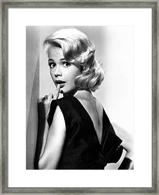 If A Man Answers, Sandra Dee, 1962 Framed Print