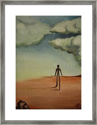 Il Cammino 2010 Framed Print by Simona  Mereu