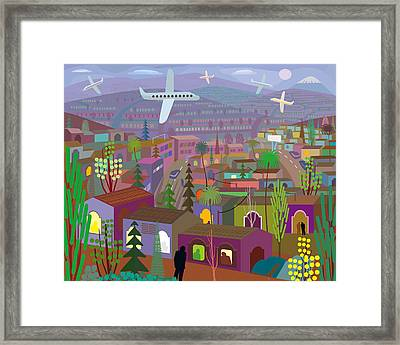Illustration And Painting Framed Print by Charles Harker