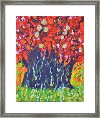 Imagination Framed Print by Shrishti Yadav