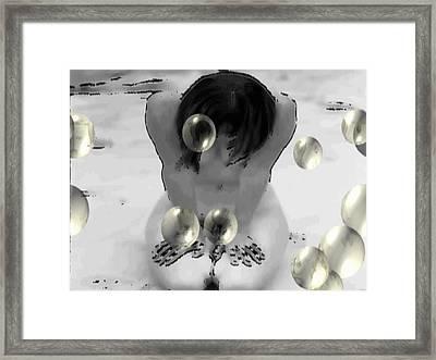 Framed Print featuring the digital art Imerse by Beto Machado