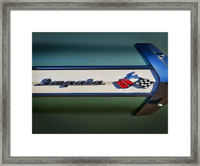 Impala Brightwork Framed Print by Douglas Pittman