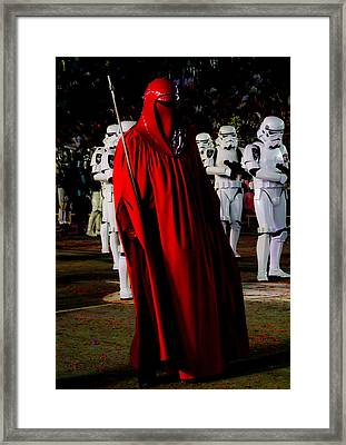 Imperial Red Guard Framed Print