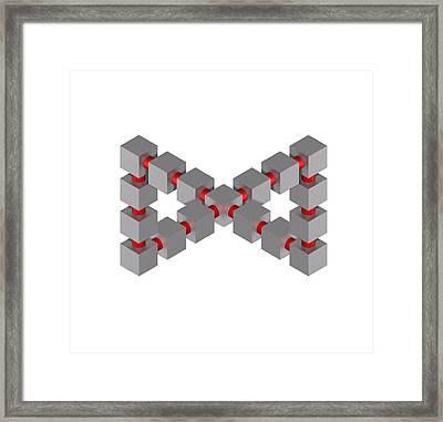 Impossible Figure, Artwork Framed Print