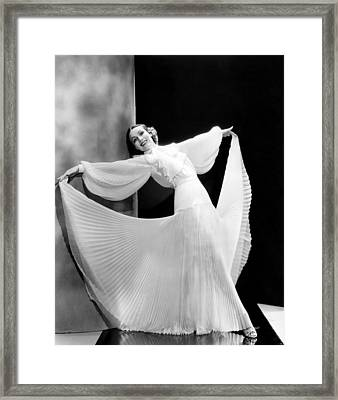 In Caliente, Dolores Del Rio, 1935 Framed Print by Everett