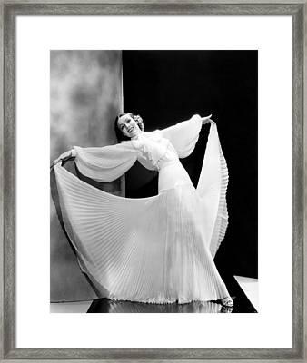 In Caliente, Dolores Del Rio, 1935 Framed Print