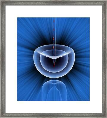 In Vitro Fertilisation, Artwork Framed Print by Mehau Kulyk