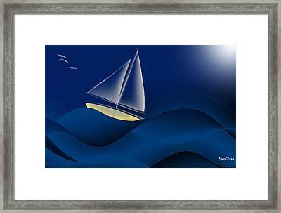 In Wind Framed Print