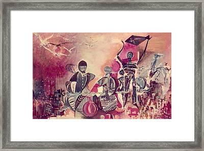 Indian Festival Framed Print by Satyajit Roy ArtDecor