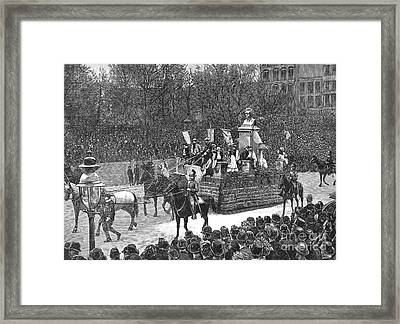 Industrial Parade, 1889 Framed Print by Granger