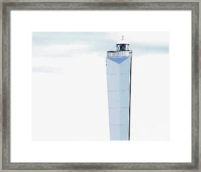 Into The Blue Framed Print by Stephen Mitchell